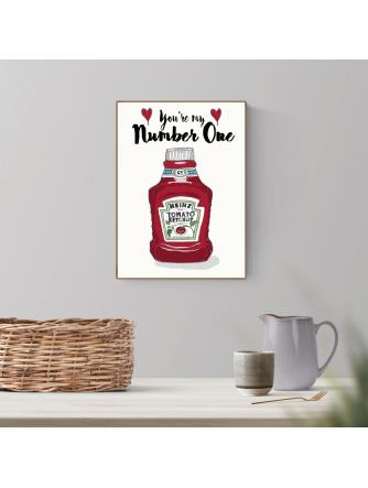 A4-Heinz You're My Number One
