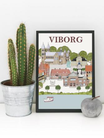 Viborg byposter A3