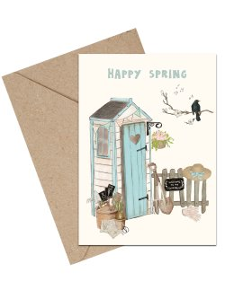 Happy Spring A6 card