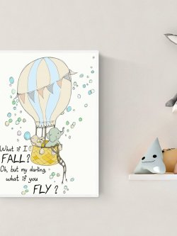 A4-What if I fall - oh my darling what if you fly?