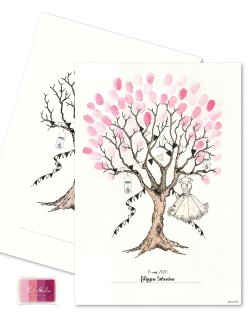 Konfirmation Fingerprint - GIRL/Pink