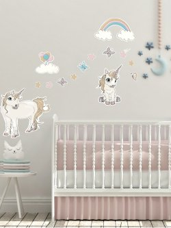 Unicorn Wallstickers