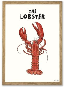The Lobster A4 plakat