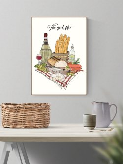 The good life 50 x 70 plakat